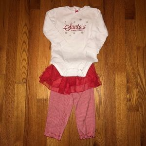 Casual 2 Piece Christmas Outfit for Toddler